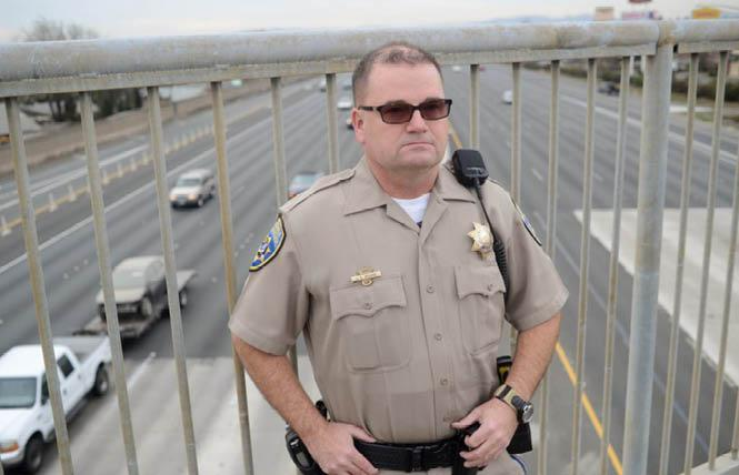 Former California Highway Patrol Officer Jay Brome won a $2.2 million settlement in his discrimination case against the statewide law enforcement agency. Photo: Courtesy RBGG Law Offices