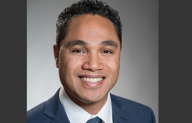 SF school board Vice President Faauuga Moliga. Photo: Courtesy Faauuga Moliga