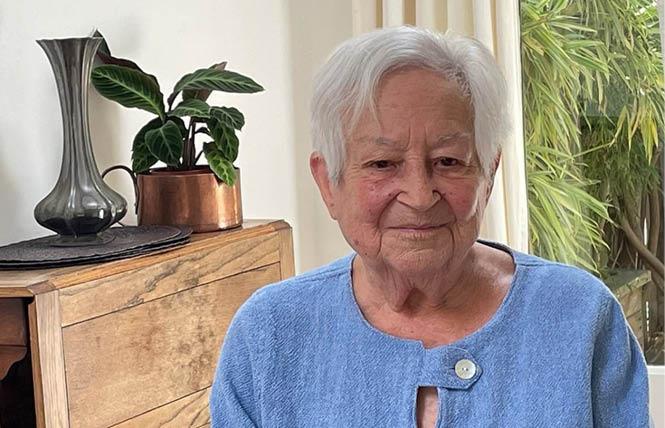Marcia Freedman was the first openly lesbian and American Israeli Knesset member. Deborah Kaufman via Facebook