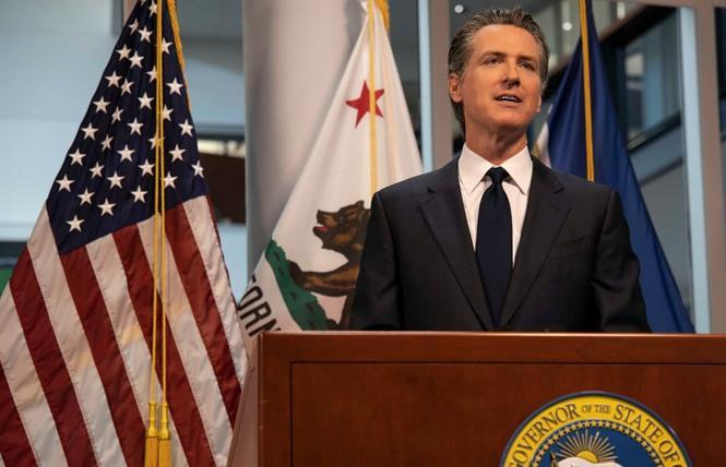 Governor Gavin Newsom signed several bills that will help LGBTQ families. Photo: Courtesy Governor's Office