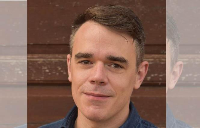 """Journalist Michael O'Loughlin's new book, """"Hidden Mercy: AIDS, Catholics, and the Untold Stories of Compassion in the Face of Fear,"""" will be published in November. Photo: Courtesy Twitter"""