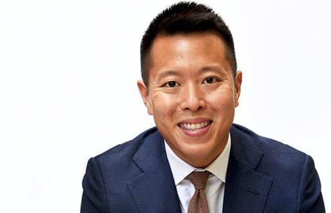 Tony Hoang will take over as Equality California's new executive director October 16. Photo: Courtesy EQCA