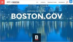 The City of Boston website has a new look.