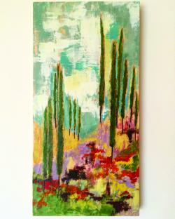 Cypress 2, by SoWa Artists Guild member Patricia Busso