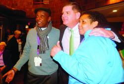 Mayor Marty Walsh. Photo by Michele Maniscalco