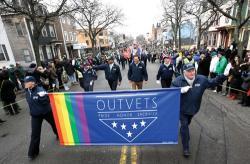 St. Patrick's Day parade 2015, in Boston's South Boston neighborhood