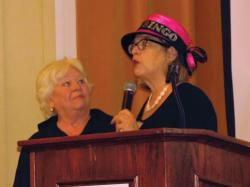 Left to Right) Ellen Rich, Susan Collings. Photo by Michele Maniscalco