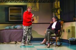 "Annie Golden and Nancy E. Carroll in area premiere of ""Ripcord"" by HuntingtonTheatre Company.(Courtesy Huntington Theatre Company)"