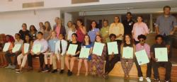2017 B/FSNA scholarship recipients. Photo by Michele Maniscalco