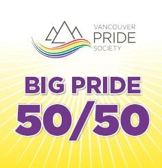 Win BIG with Pride 50/50