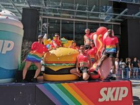 SkipTheDishes supports Vancouver Pride
