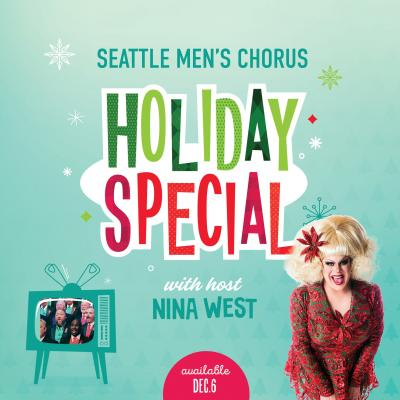 Seattle Men's Chorus presents 40th annual Holiday Special concert hosted by Nina West
