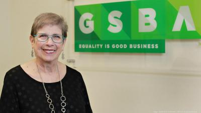 GSBA President & CEO Louise Chernin - community activist and community leader extraordinaire - retiring after 28 years of service