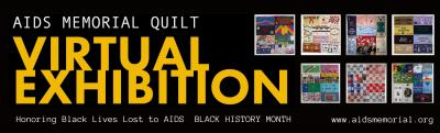 National AIDS Memorial observes Black History Month with Memorial Quilt virtual exhibition honoring Black lives lost to AIDS