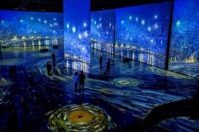 "Immersive ""Imagine Van Gogh"" exhibit coming to Tacoma"