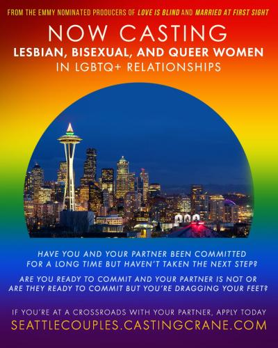 New unscripted television show casting Queer women in PNW