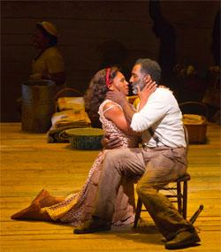 "Audra McDonald and Norm Lewis in ""The Gershwins' Porgy and Bess"""