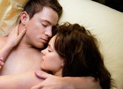 "Channing Tatum and Rachel McAdams in ""The Vow"""