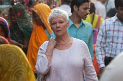 "Judi Dench in ""The Best Exotic Marigold Hotel"""