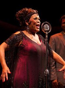 "Yvette Freeman stars in ""Ma Rainey's Black Bottom,"" continuing through April 8 at BU Theatre, 264 Huntington Avenue, Boston"