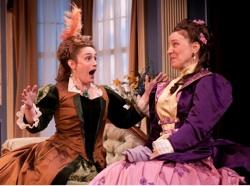 """Suzanne O'Donnell and Grace Gonglewski in """"Boston Marriage"""""""
