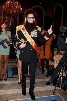 "Sacha Baron Cohen in ""The Dictator"""