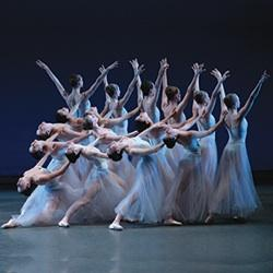 """Serenade"", one of the ballets featured in the New York City Ballet's Spring Season"