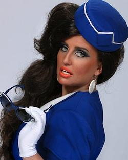 Pam Ann is ready for take-off...get your first-class boarding pass now for her XL debut!