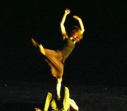 Dancers perform in ZviDance.