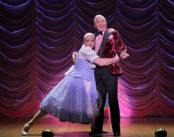 """George Hamilton and Christopher Sieber in """"La Cage Aux Folles"""""""