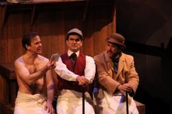 """Greg Jackson, Dan Domingues and Jonathan Brody in """"Hound of the Baskervilles"""""""