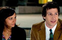 "Rashida Jones and Andy Samberg star in ""Celeste and Jesse Forever"""