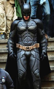 "Christian Bale in ""The Dark Knight Rises"""