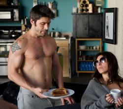 Actor and screenwriter David W. Ross and Jamie-Lynn Sigler in a scene from the film I Do. (Photo: Courtesy Dave Bryant)