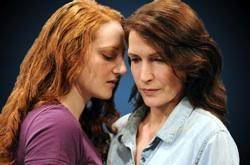 """Rebecca White and Laura Siner in  """"Hadrian's Wall"""""""