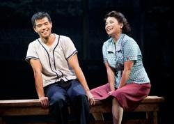 Telly Leung as Sammy Kimura and Lea Salonga as Kei Kimura in the World Premiere of 'Allegiance'