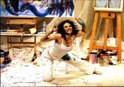 Jann Karam in 'Reclining Nude on La Cienega'