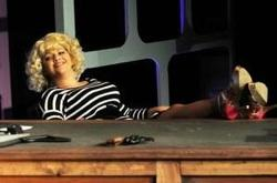 Melinda Lebo plays Doralee in the Titusville Playhouse production of '?9 to 5: The Musical?' at Emma Parrish Theater