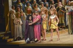 The cast of 'Aida'