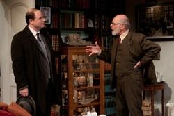 Todd Scofield as C.S. Lewis and David Howey as Sigmund Freud