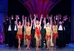 Rachel York and the cast of 'Anything Goes'