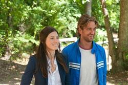 "Jessica Biel and Gerard Butler in ""Playing For Keeps"""
