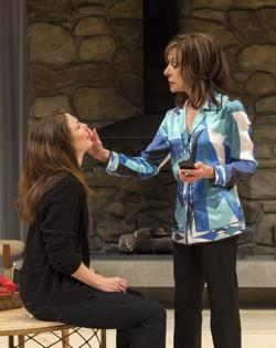 Robin Weigert and Jeannie Berlin in 'Other Desert Cities' at the Center Theatre Group