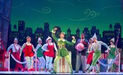 Matt Kopec (Buddy) and the cast of 'Elf The Musical'