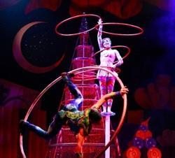 The acrobats of 'Cirque Dreams Holidaze'