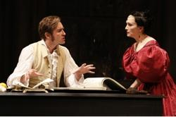 Lee Pace as Vincenzo Bellini and Bebe Neuwirth as Maria Malibran
