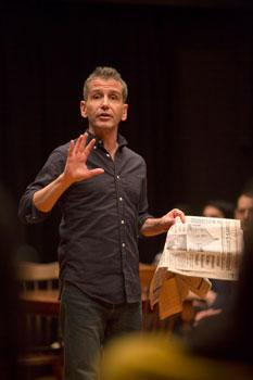 David Cromer n the Huntington Theatre Company's 'Our Town""
