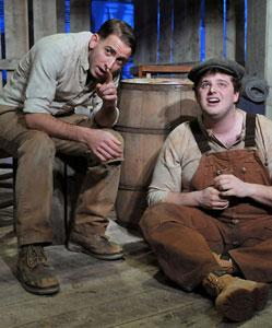 Phil Tayler and Harry McEnerny star in Steinbeck's 'Of Mice and Men,' continuing through Dec. 22 at the BCA