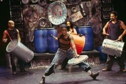 "The cast of ""STOMP"""