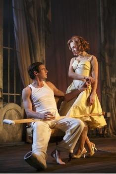Benjamin Walker & Scarlett Johansson